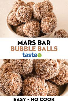 Tray Bake Recipes, Fun Baking Recipes, Sweet Recipes, Snack Recipes, Dessert Recipes, Cooking Recipes, Baking Snacks, Rice Bubble Recipes, Recipes With Rice Bubbles