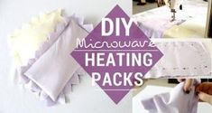 How To Make Reusable Rice Heat Packs - You can make as many as you want and have several of them around the house. - Perfect for aching joints or warmth on a cold day, and really easy to make! Adult Crafts, Diy And Crafts, Do It Yourself Projects, Projects To Try, Rice Heat Pack, Reusable Things, Craft Show Ideas, Diy Ideas, Natural Health Remedies