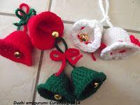 Haken allerlei Curacao, Dushi Amigurumi: Haak patronen kerst ornamenten en kerstballen