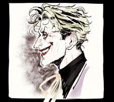 Joker Comic, Joker Art, Joker Drawings, Cool Drawings, Iron Maiden, Dc Comics, Im Batman, Batman Stuff, Heath Ledger Joker