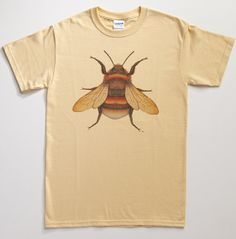 Hey, I found this really awesome Etsy listing at http://www.etsy.com/listing/113103838/bumblebee-insect-t-shirt-silkscreened