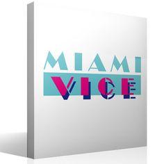 Adesivi Murali Miami Vice