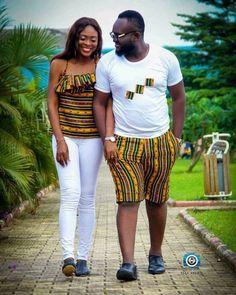 Beautiful African Couple Styles 2019 - Last Trendy Couples African Outfits, African Dresses Men, African Clothing For Men, African Shirts, African Fashion Ankara, Latest African Fashion Dresses, Couple Outfits, African Print Fashion, Africa Fashion
