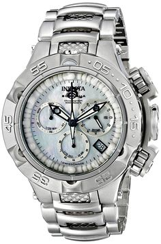 Invicta Women's 17219 Subaqua Analog Display Swiss Quartz Silver Watch >>> Click on the watch for additional details.
