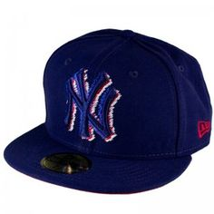 New Era Country Cross NY Yankees Fitted Cap