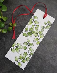 Diy Crafts Bookmarks, Creative Bookmarks, Cute Bookmarks, Bookmark Craft, Homemade Bookmarks, Paper Bookmarks, Art Doodle, Doodle Drawings, Art Drawings Sketches