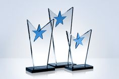Custom Crystal Star Trophies And Awards Star Trophy, Award Plaques, Crystal Awards, Star Awards, Shining Star, Life Moments, Bookends, Woodworking, In This Moment