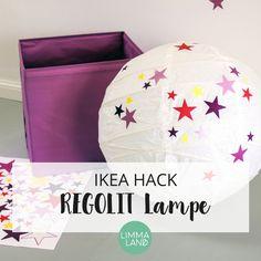 Hier Findet Ihr Tolle Ikea Hacks Rund Um Die Ikea Regolit Lampe Schone Kreative Ideen Lampen Selber Machen Kinderzimmer Ikea Regolit Lampenschirm Kinderzimmer