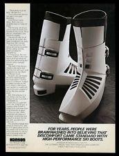 hanson ski boots - Google Search Ski Gear, Alpine Skiing, Vintage Ski, Ski Boots, Icons, Culture, History, Google Search, Winter