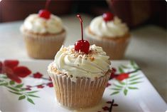 After much research, this Tres leches cupcake recipe looks promising--the cake should stand up to being soaked with the milks! Yum!