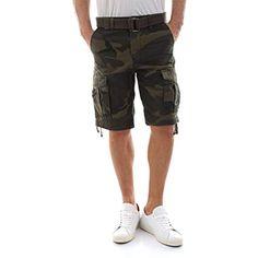 cadf1d009359a5 Jack Jones Bermuda Herren Anakin Cargo Shorts AKM Camouflage #Bekleidung  #Damen #Tops T