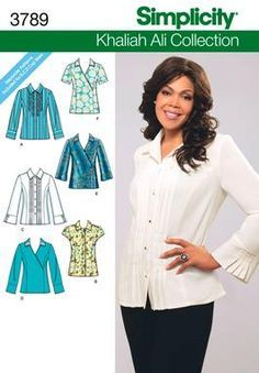 simplicity patterns plus sizes shirt - Buscar con Google