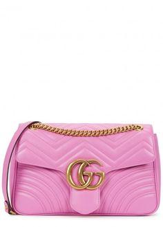 GUCCI - Marmont medium leather shoulder bag