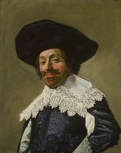 Portrait of a man with hat
