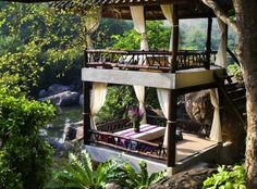 These secluded forest and jungle resorts in South East Asia provide the perfect escape from city life and are great alternatives to beach vacations
