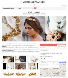 Nuestra ficha en la web #WeddingPlanner de la revista #TELVA - http://www.telva.com/wedding-planner/rocio-porres-sevilla.html   Todo para organizar tu #boda!