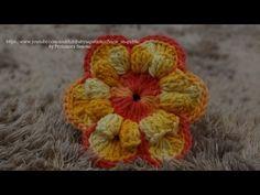 ▶ Passo a passo Flor RAIOS DE SOL - YouTube