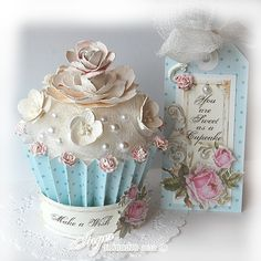Shabby Chic..would be adorable for a tea party...