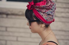 Vim and Verve: head scarves in the summer