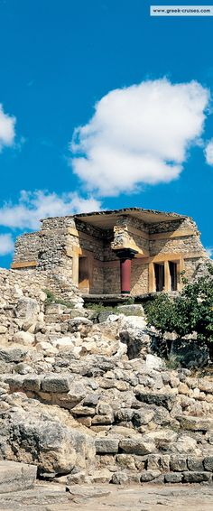 Knossos, #Crete, #Greece  Visit #Crete with www.greek-cruises.com