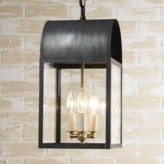 Arched Roof Outdoor Hanging Lantern