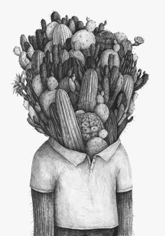 Draw this for Forest's room, or you could do a few with succulent pictures and frame them! But have them in colour