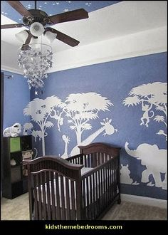Baby Boy Room Ideas - Designing a boy nursery seems to be an overwhelming task. When you choose the best baby boy room ideas, multiple color Boy Girl Room, Baby Boy Rooms, Baby Boy Nurseries, Bedroom Themes, Nursery Themes, Nursery Decor, Nursery Murals, Baby Bedroom, Nursery Room