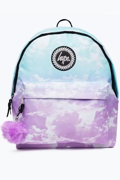2f07152d2f Backpacks   Bags. Hype Multi Fade Clouds Pom ...