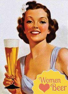 women like beer
