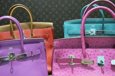 hermes & louis vuitton! Omg! The Berkin Bag! The bag of my dreams! And LV! Ugh! To die for! Lol