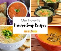 If you've ever wanted to make Panera Bread restaurant recipes in the comfort of your own home, our roundup, 6 of our Favorite Copycat Panera Soup Recipes Vegtable Soup Recipes, Cream Soup Recipes, Onion Soup Recipes, Chicken Soup Recipes, Easy Soup Recipes, Cat Recipes, Burger Recipes, Panera French Onion Soup