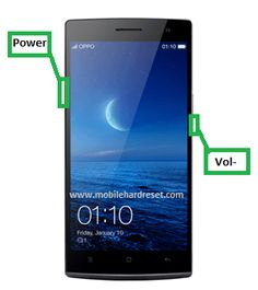 Oppo Find 7a Hard Reset Solution