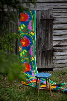 Vihreä talo & Marimekko Marimekko ss16 Marimekko, Ss16, Homeland, Finland, Living Spaces, Cottage, Graphics, Sewing, Summer