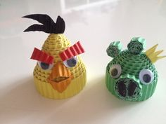 Angry Birds van ribbelkarton