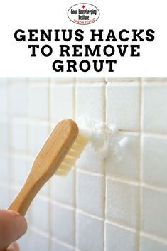 How to clean bathroom tiles: hacks for how to clean grout