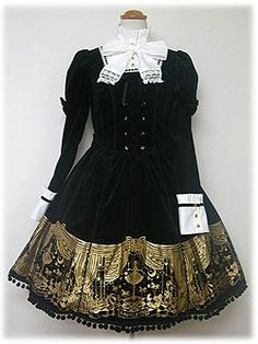 I found it!!!  Thought it was a skirt.  See the other picture, further down on the board.  Angelic Pretty » One Piece » Puppet Circus OP