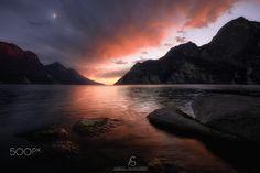 Garda Dreams II - Breathtaking sunset from lake Garda. Hope you enjoy!!