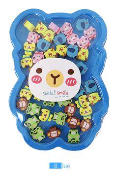 Animal Friends Eraser Set