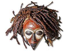 Sie sehen hier eine wunderbare Rastamaske der Chokwe. Diese wunderbare Chokwe…