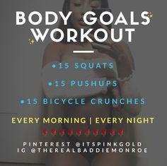 Weight loss & Body Goals @itspinkgold