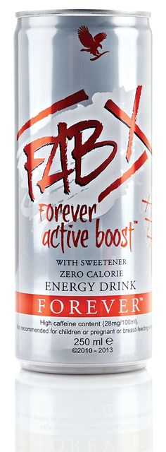 #FAB X Forever Active Boost #EnergyDrink has ZERO calories, sugar OR carbs! Making it the best drink for when you want a refreshing pick-me-up. #ForeverLiving http://link.flp.social/9z1eYA
