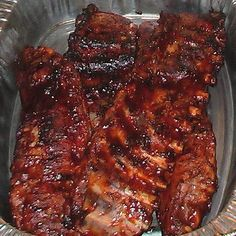 What's for dinner? slow cooked bbq ribs :))) In the oven now!