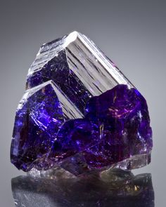 Tanzanite from Tanzania ❦ CHRYSTALS ❦ semi precious stones ❦ I have this stone in a pair of earrings the colour is amazing