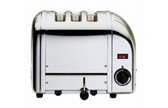 Dualit Toaster Year Invented: 1952 Designer: Max Gort-Barten Max Gort-Barten, a German-born entrepreneur, started Dualit in Britian after World War II. Gort-Barten designed the first six-slice toaster with a built-in timer in 1952. The toaster's iconic design (virtually unchanged since its conception) makes it a staple in homes today.