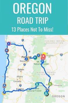 Planning an Oregon road trip? Here are 13 adventures to put on your Oregon road trip itinerary from the coast to the mountains to the forest. Don't visit Oregon before reading these Oregon travel… Oregon Coast Roadtrip, Oregon Vacation, Oregon Beaches, Oregon Road Trip, West Coast Road Trip, Oregon Travel, Road Trip Usa, Travel Usa, Travel Tips