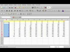 Tabulka pre nasobenie do 5 minut Periodic Table, Internet, Youtube, Studying, Periodic Table Chart