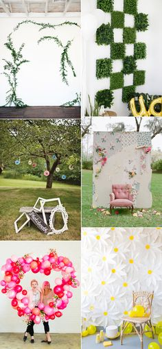 we love handmade | we love Inspiration: Wedding Photo Booths | http://welovehandmade.at
