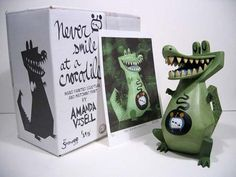 """Amanda Visell's """"Never Smile at a Crocodile"""" toy"""