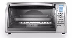 Toaster Ovens with Convection Digital Black Decker Stainless Steel Countertop #BLACKDECKER