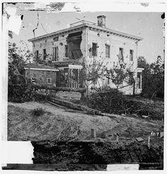 Shell Damaged House in Atlanta Library of Congress